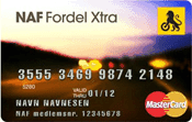 NAF Fordel Xtra kredittkort