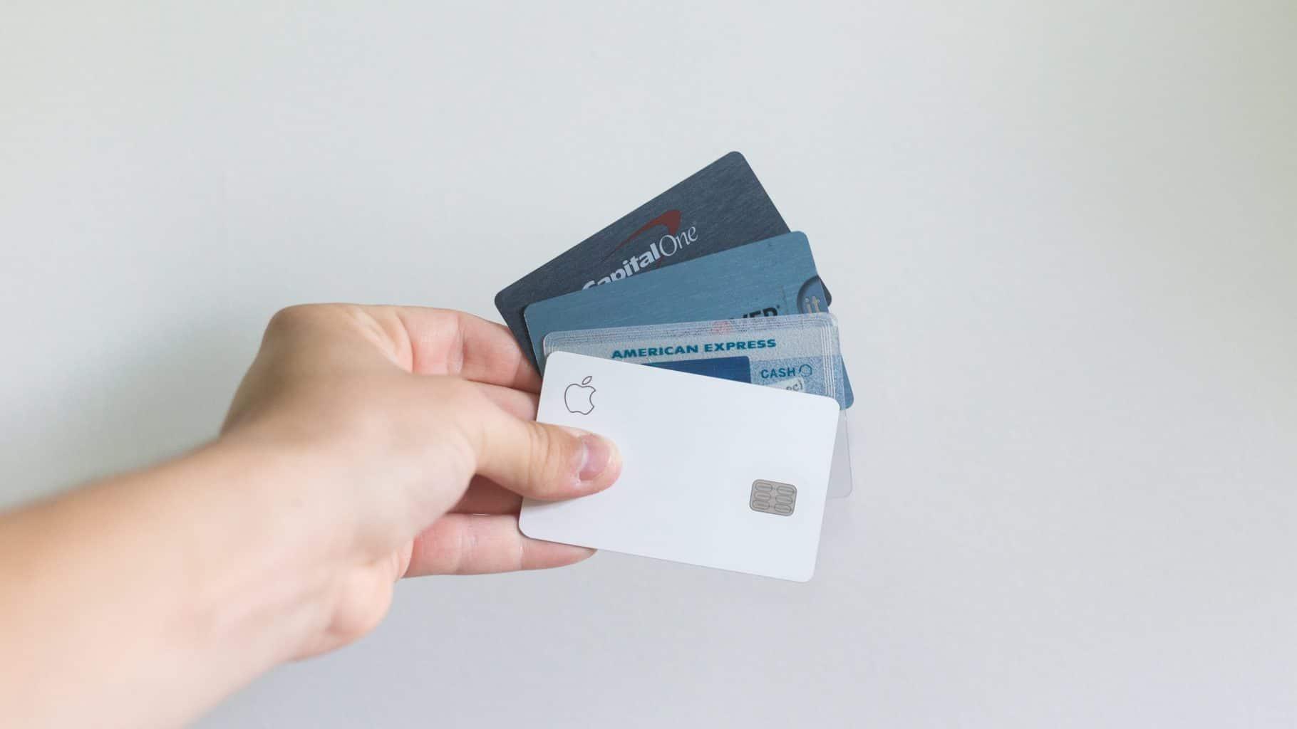 Mange kredittkort